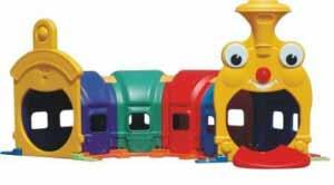 تونل قطار شادی کودک و مهد کودک