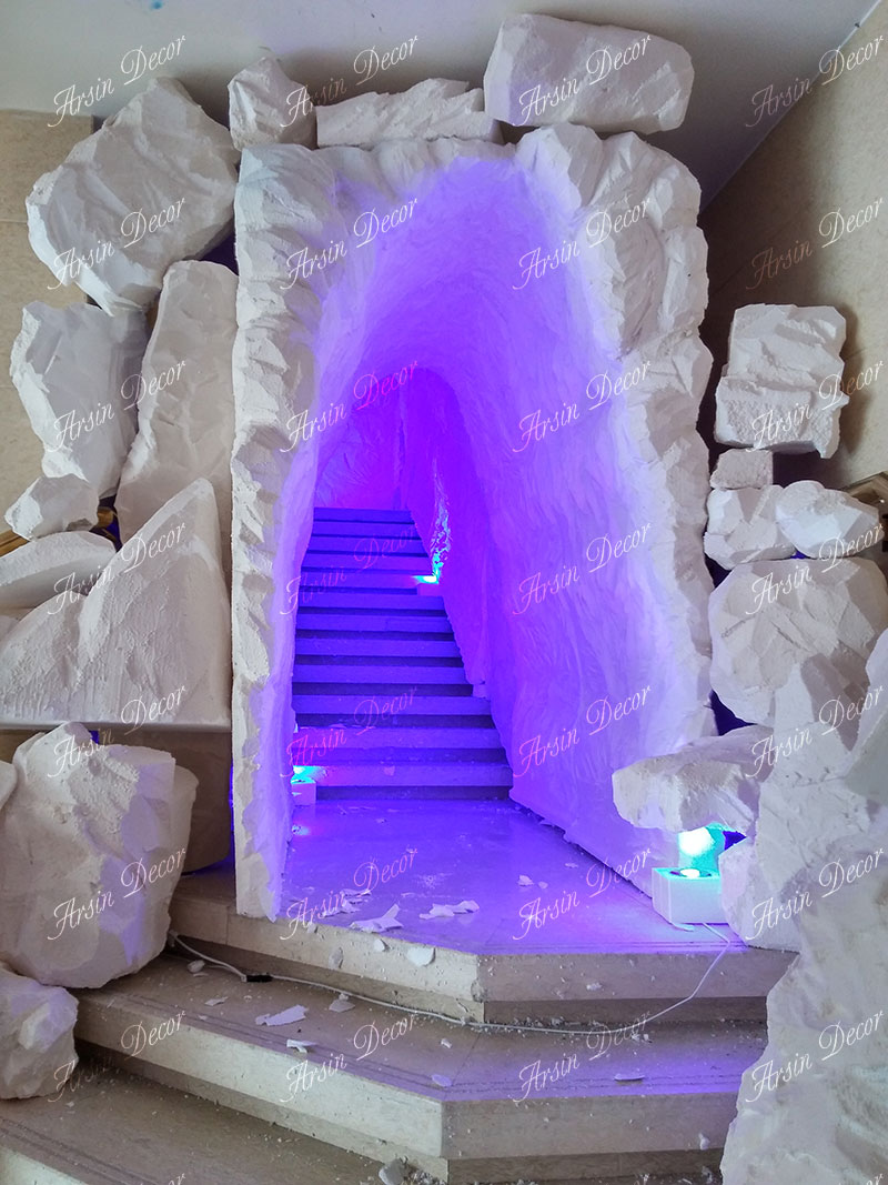 ماکت تبلیغاتی غار و کوه یخی