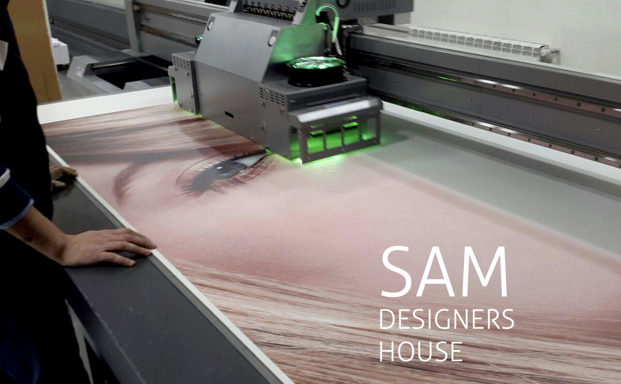 چاپ دیجیتال فوری در خانه طراحان سام