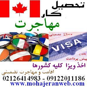 اخذ ویزا و مهاجرت تضمینی ویستا آریان ایرانیان