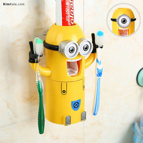 بهترین راه تشویق کودکان به مسواک زدن با جا مسواکی فانتزی مینیون/09120132883