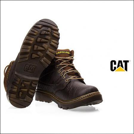 پوتین مردانه cat نیم بوت کاترپیلار (فروشگاه جهان خرید)