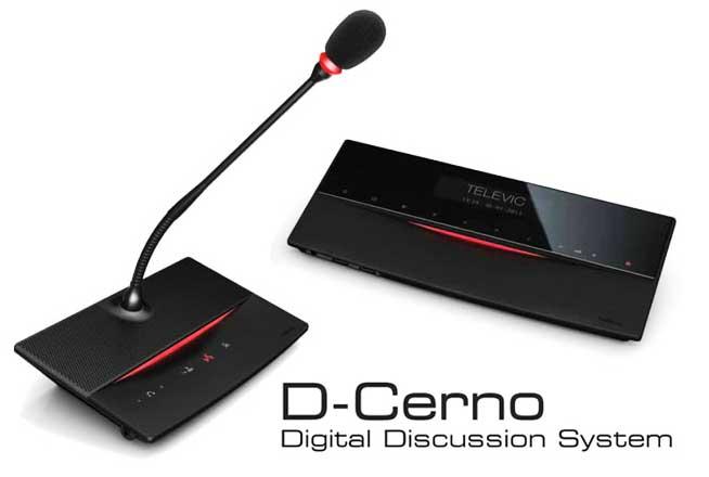 سیستم کنفرانس تلویک Televic Dcerno