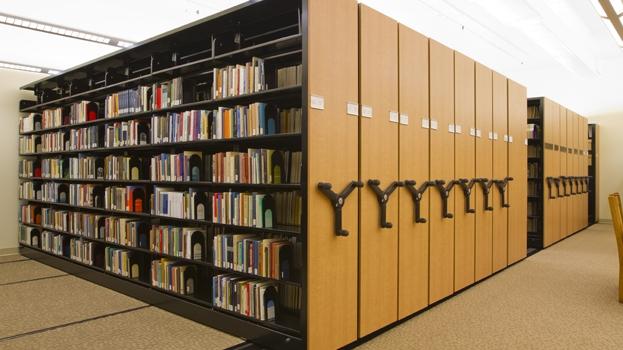 قفسه کتابخانه ریلی/کمد کتابخانه فلزی ریلی/سیستم ریلی