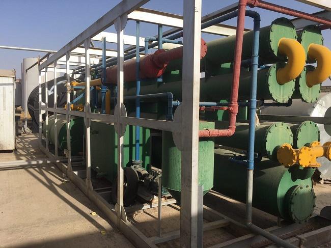 فروش کارخانه تولید و تصفیه هیدروکربن از مواد بازیافتی