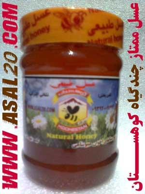 عسل طبیعی، گیاهی و درمانی چند گیاه (چهل گیاه) کوهستان