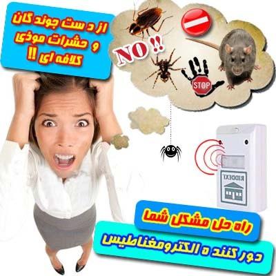 آیا از حشرات و حیوانات موذی اطرافتان خسته شده اید؟