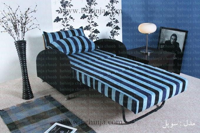 مبل تختخواب شو|کاناپه تخت شو|بهین جا|09126183871