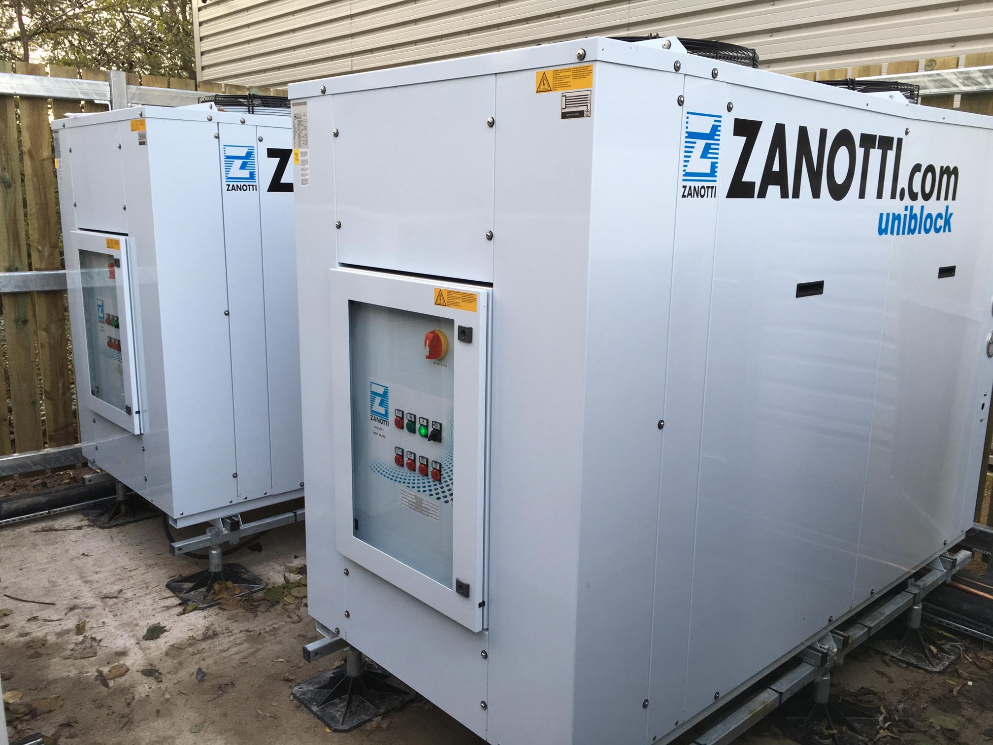 نسل جدید سردخانه ZANOTTI ایتالیا