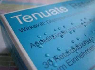 فروشگاه ملکی: قرص لاغری تینوئیت رتاد آلمان Tenuate Retad