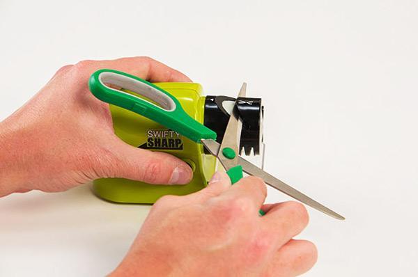 چاقو تیزکن برقی اتوماتیک swifty sharp (فروشگاه جها