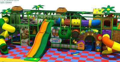 فروش تجهیزات زمین بازی کودکان داخل سالن (indoor)