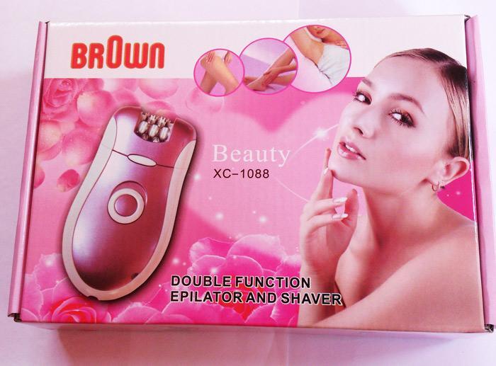 دستگاه اپیلیدی دو کاره براون Brown (فروشگاه جهان خرید)