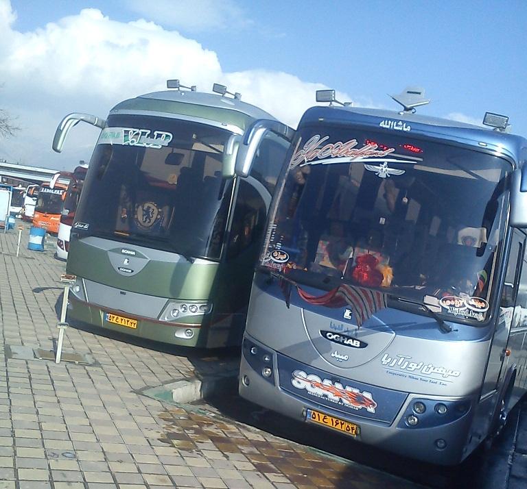 فروش بلیط اتوبوس اهواز به سایر نقاط
