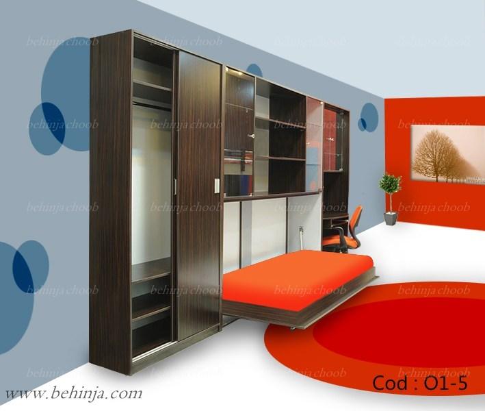 مدل های تختخواب تاشو|انوا تخت دیواری کمجا|09126183871