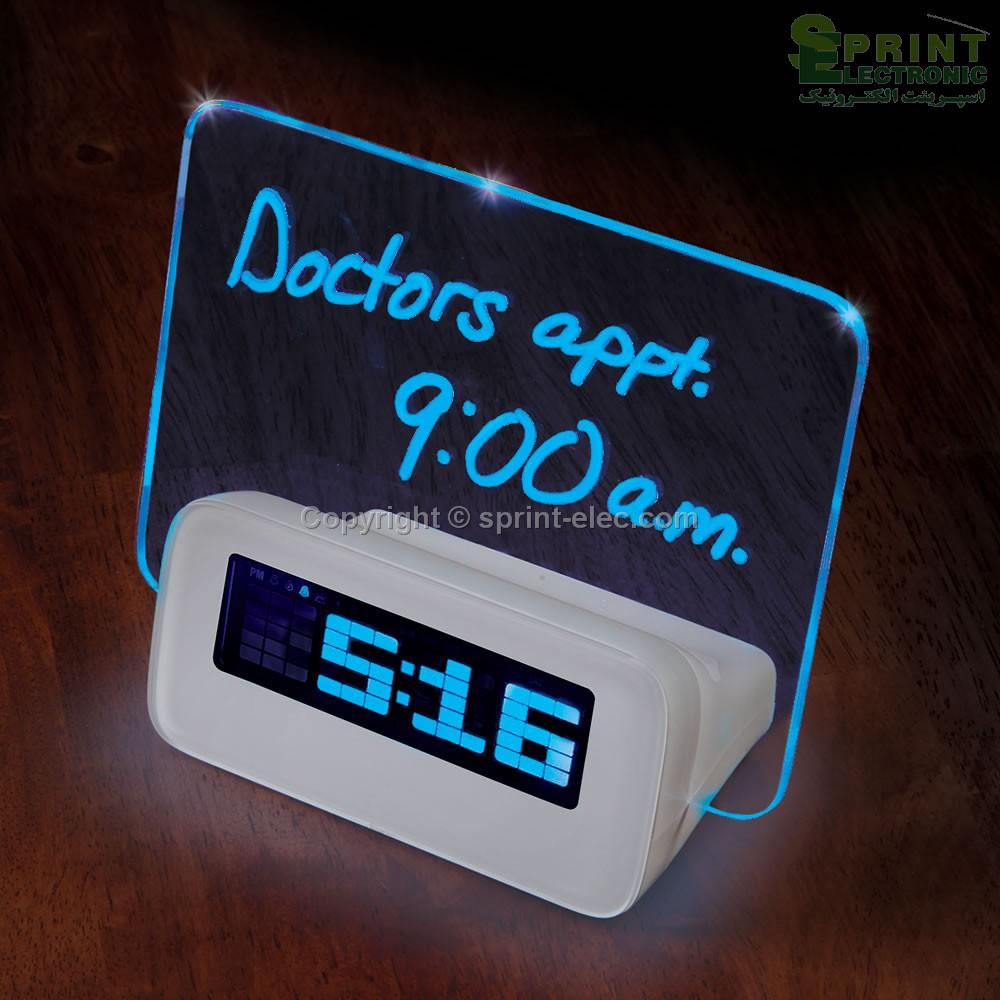 ساعت دیجیتالی همراه با HUB USB