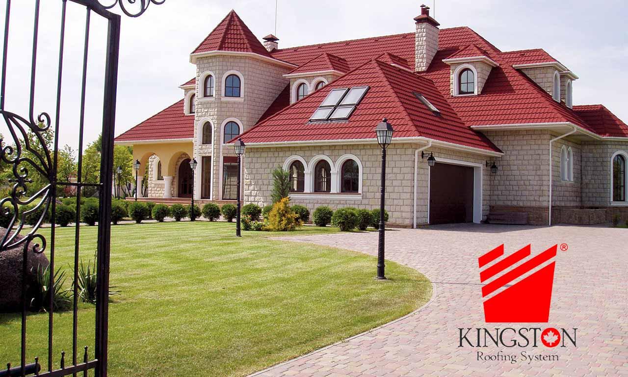 تایلهای سقفی، سقف های سنگریزه ای، پوشش سقفهای شیبد