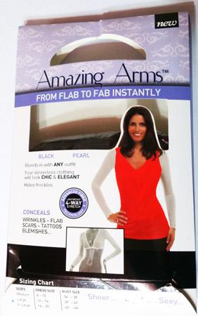 پوشش دست amazing arm ست 2عددی  ( فروشگاه کارَن شاپ