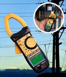 فروش انواع مولتی متر AC/DC و کلمپ آمپرمتر(آمپر متر انبری)، Clamp meter