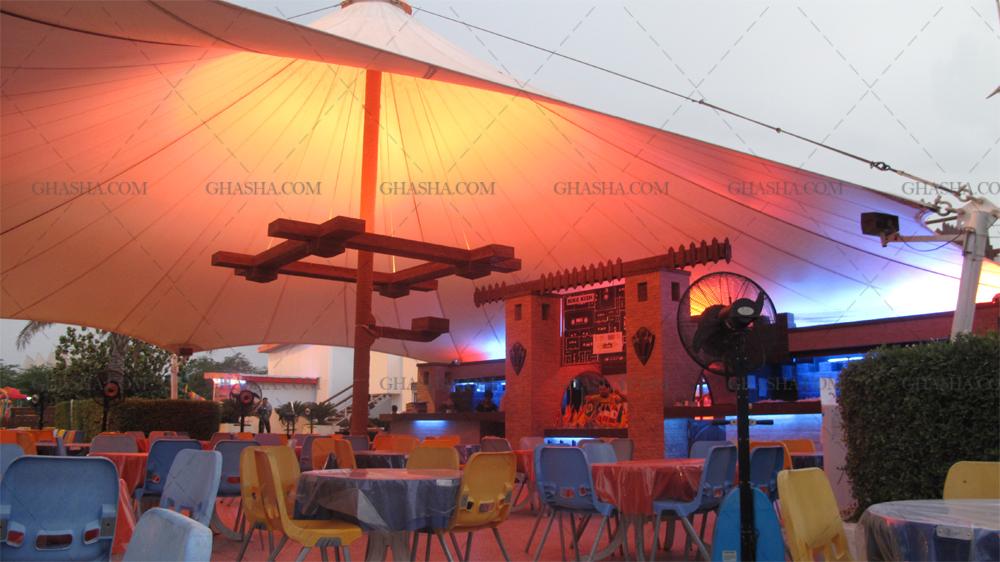 سقف رستوران