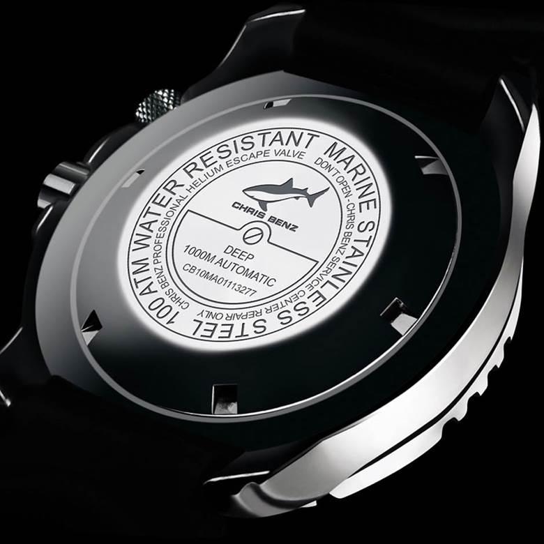 ساعت نظامی غواصی حرفه ایی عمیق اتوماتیک (1000 متری