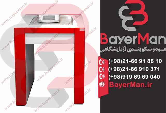 میز توزین نصب و عرضه در شرکت بایرمن