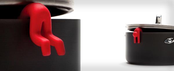 نگهدارنده درب قابلمه طرح آدمک 2 عددی (فروشگاه جهان