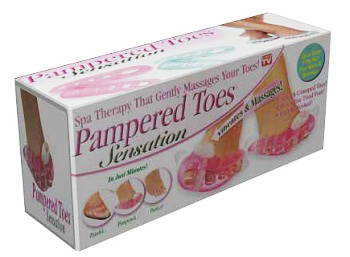 ماساژور ویبره انگشتان پا و دست pampered toes اصل (فروشگاه جهان خرید)