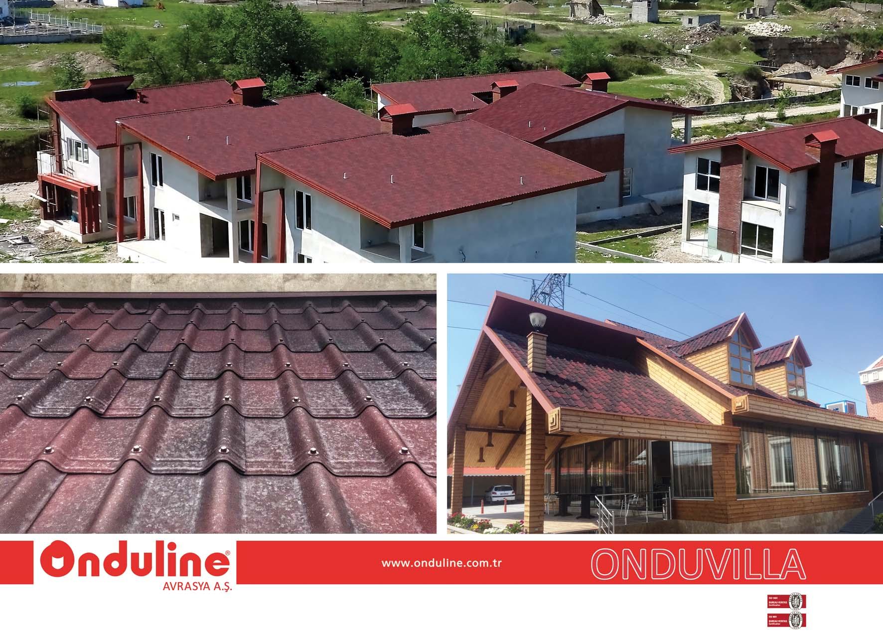 پوشش سقف آندولین