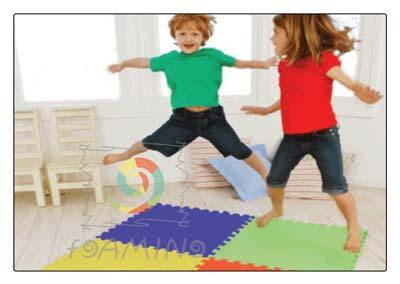 فروش انواع کفپوش و دیوارپوش مهد کودکی