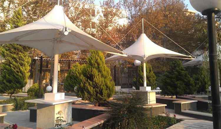 سازه های چادری آلاچیق چادری