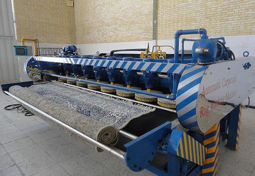 کارخانه قالیشویی  مدرن در خدمت تمام مناطق تهران