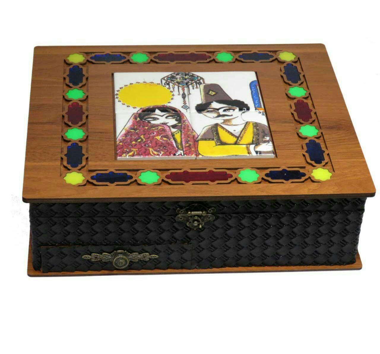 جعبه دمنوش و چای