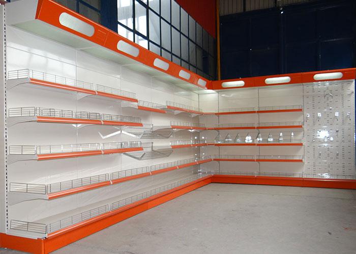 تجهیزات فروشگاهی- قفسههای فروشگاهی -استند تبلیغاتی- قفسههای مغازه
