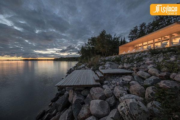 طراحی ویلای ساحلی با متریال بومی و مدرن