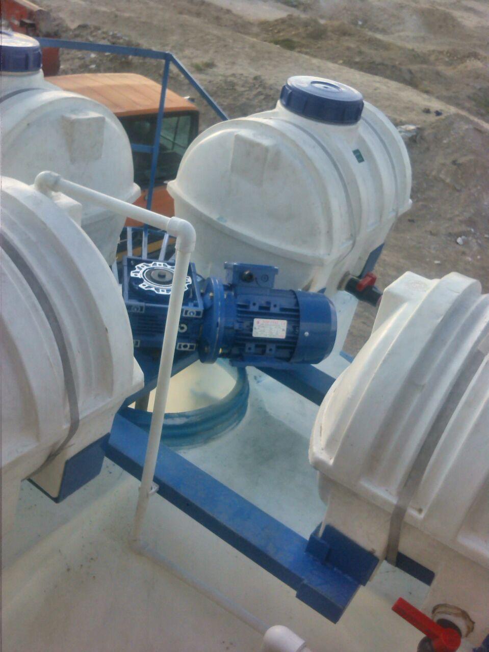 مواد شیمیایی ابکاری و سیستم تصفیه فاضلاب