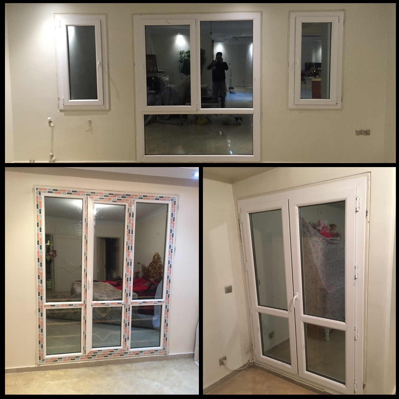 تولید،تعمیر و تعویض پنجره های دو جدارهupvc