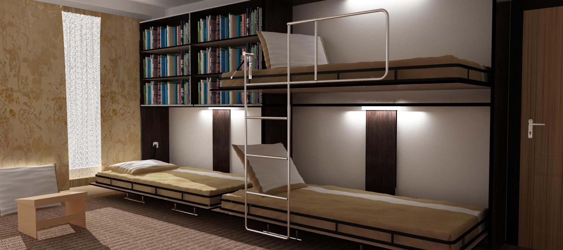 تختخواب دوطبقه تاشو|تخت دوطبقه دیواری|09126183871