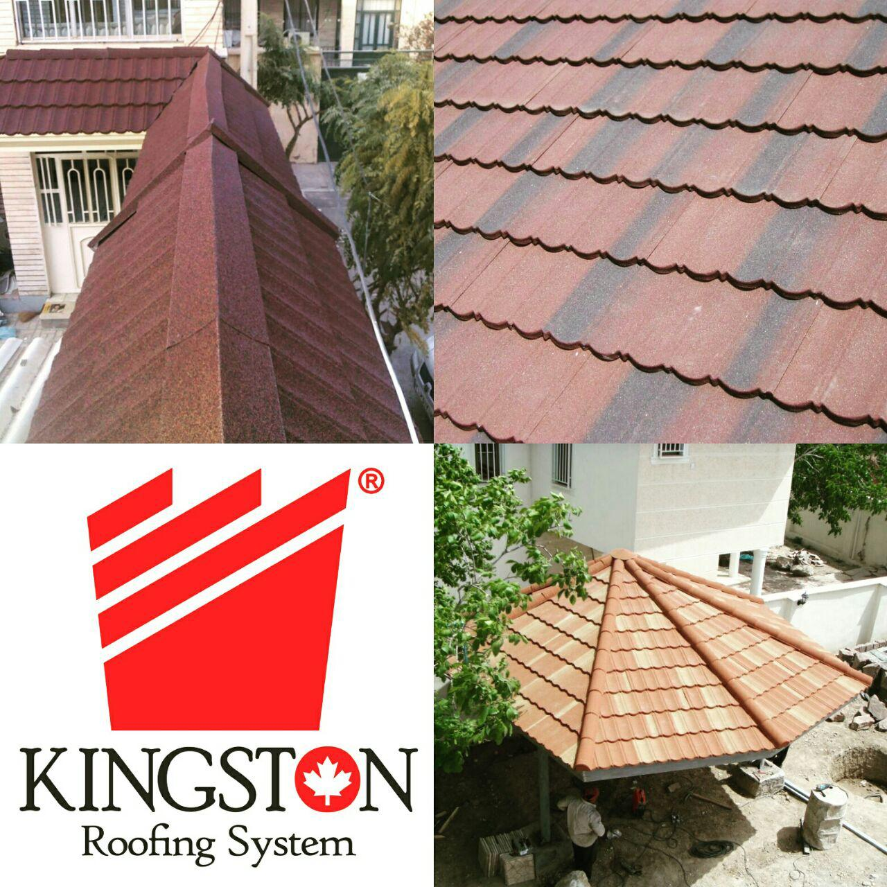 طرح سنگریزه ای، پیشانی آپارتمان، پوشش سقف شیبدار،