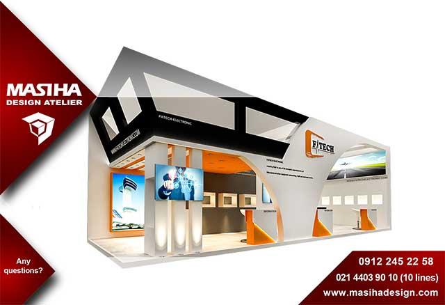 طراحی غرفه و غرفه آرایی شرکت مسیحا دیزاین