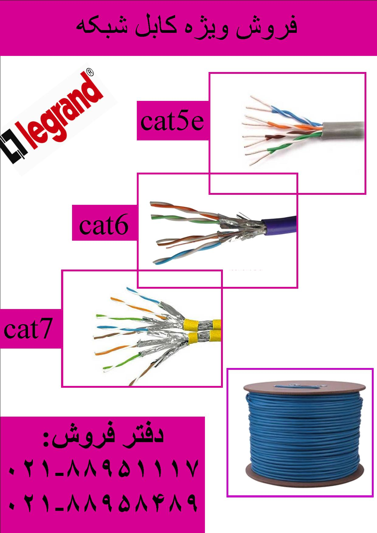 کابل لگراند فروش کابل لگراند LEGRAND تلفن تهران 88958489