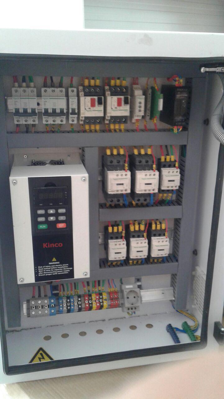 نصب و راه اندازی تجهیزات کنترلی هواساز