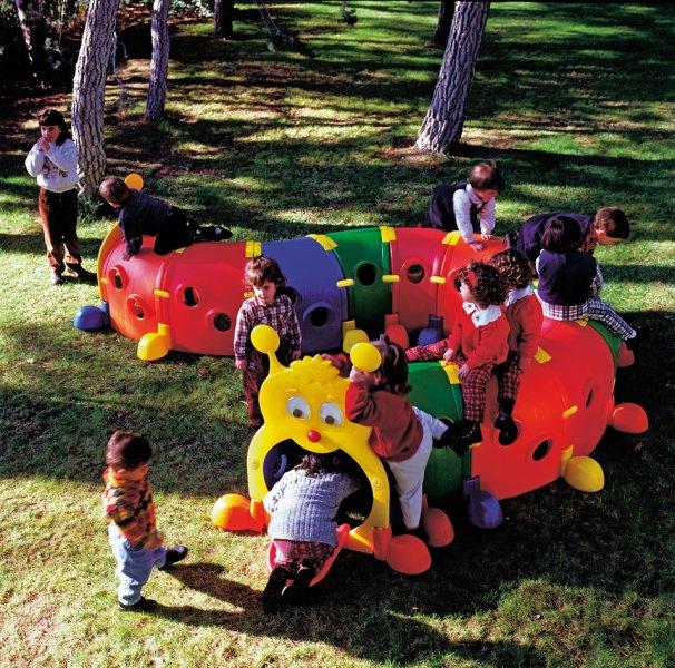 تونل بازی کرم ابریشم کودک و مهد کودک