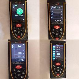 فروش متر لیزری HTC دوربین دار 120 متری