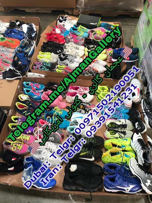 واردات عمده کفش و کتونی از دبی و امریکا