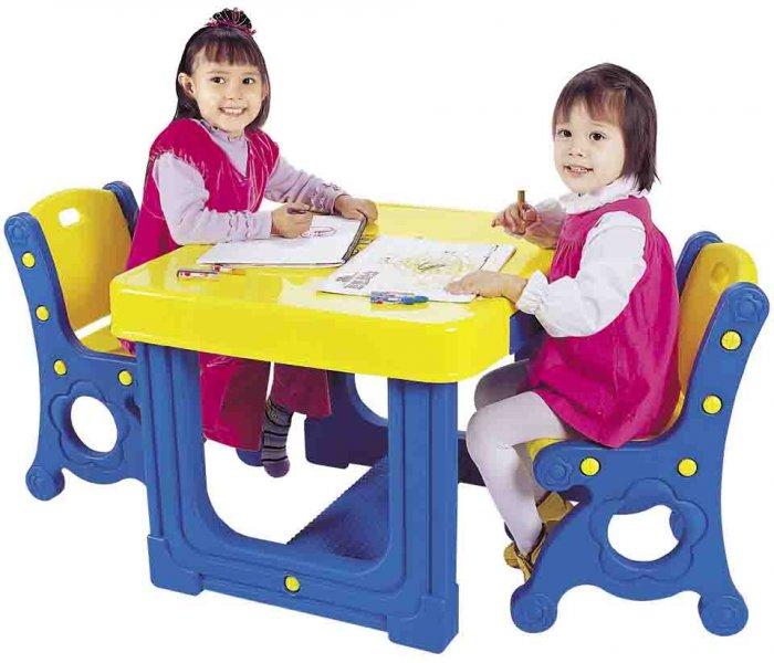 میز تحریر دو نفره مدل پرنسس کودک Haenimtoy