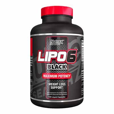 کپسول کاهش وزن سریع لیپو 6 بلک چربی سوز قوی