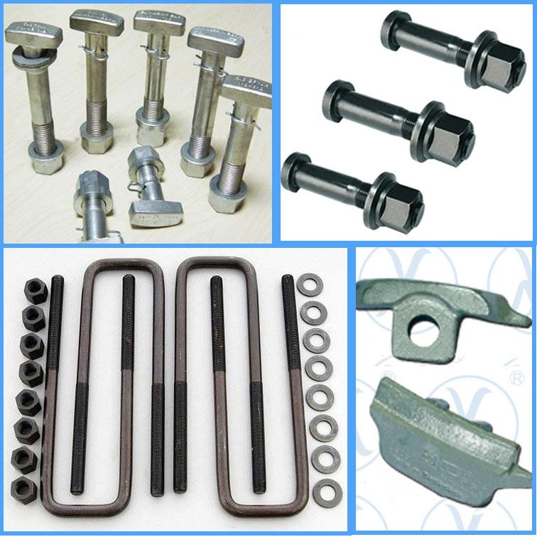 توزیع انواع پیچ ومهره چرخ ، لقمه چرخ، کرپی و قطعات زیرشاسی کامیون و تریلر