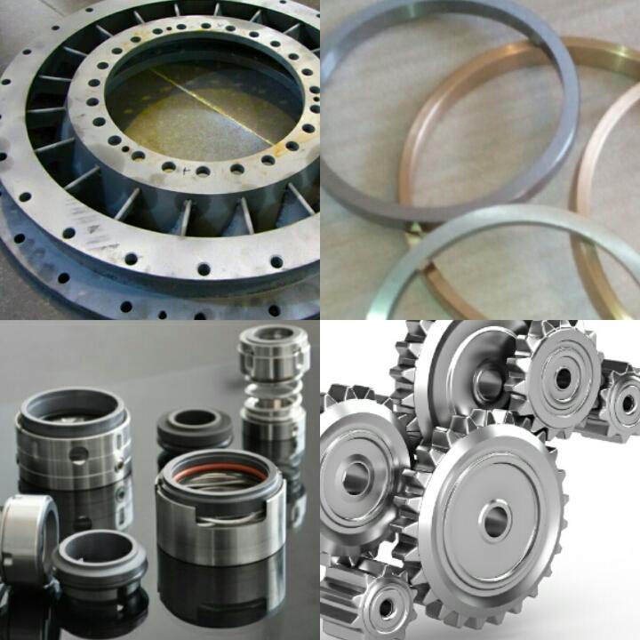 تولید انواع قطعات و ساخت تجهیزات صنعتی