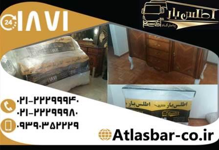 باربری شرق تهران با ارائه خدمات جابجایی بصورت شبانه روزی